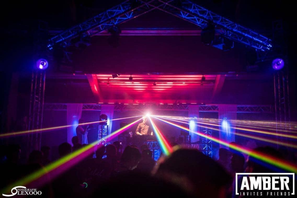 Amber Invites 2 EQS Light and sound rental