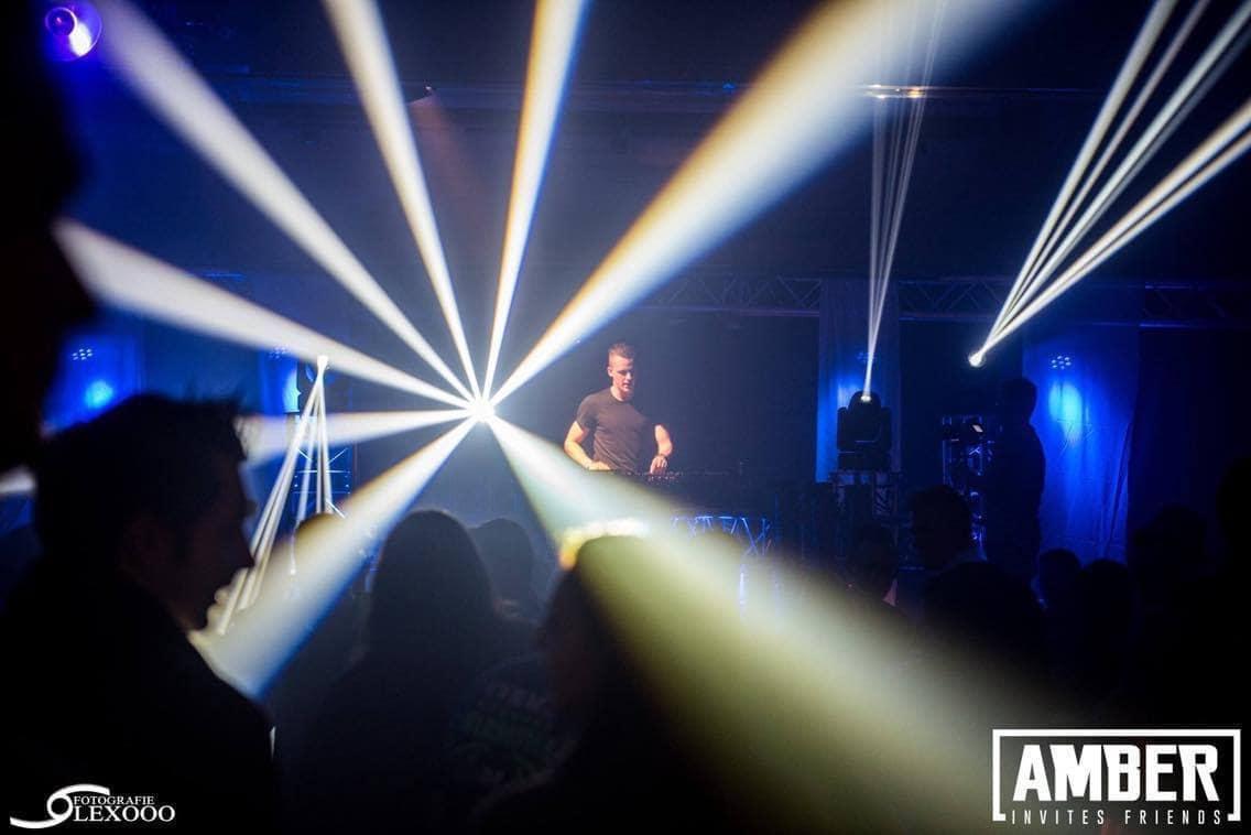 Amber Invites 4 EQS Light and sound rental