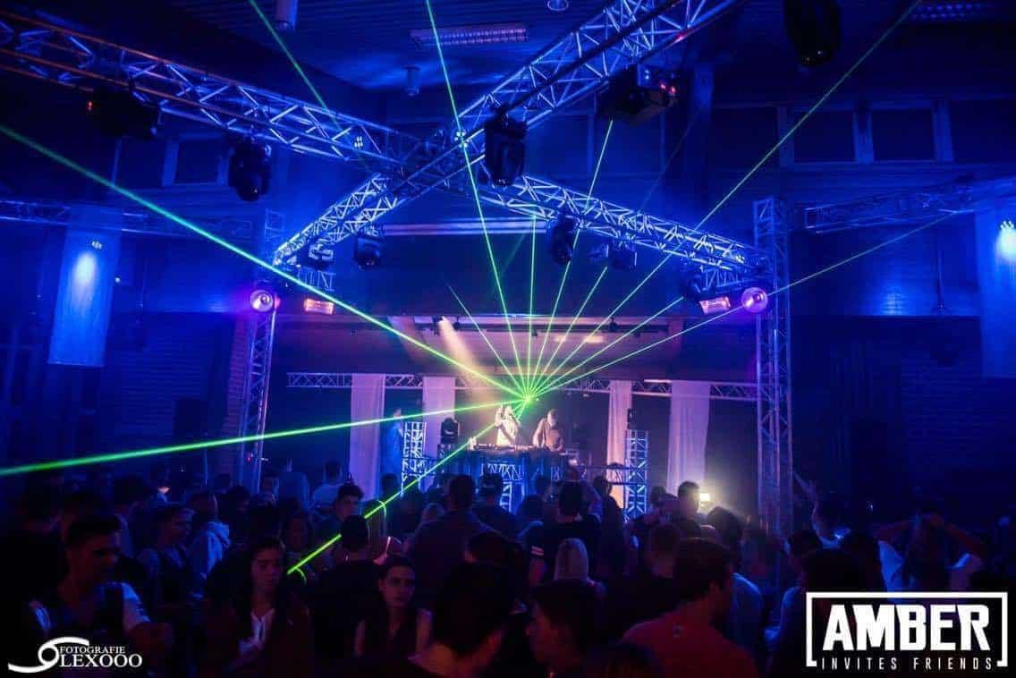 Amber Invites 6 EQS Light and sound rental