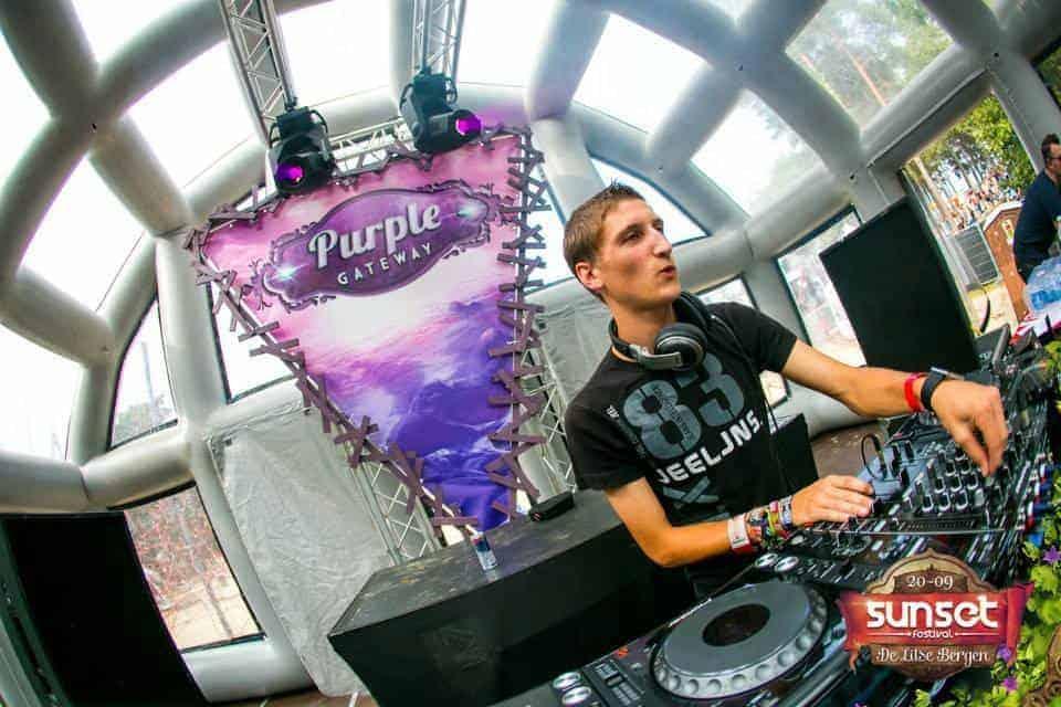 DJ Protex Wouter De Loose EQS Licht en geluid huren