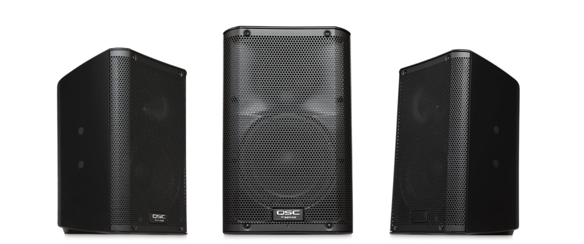 QSC K8 Actieve speaker huren?