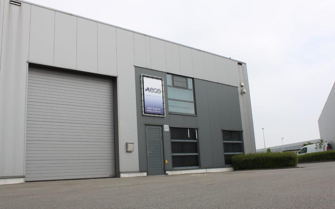 EQS Pro-Rent is verhuisd naar Hoogstraten